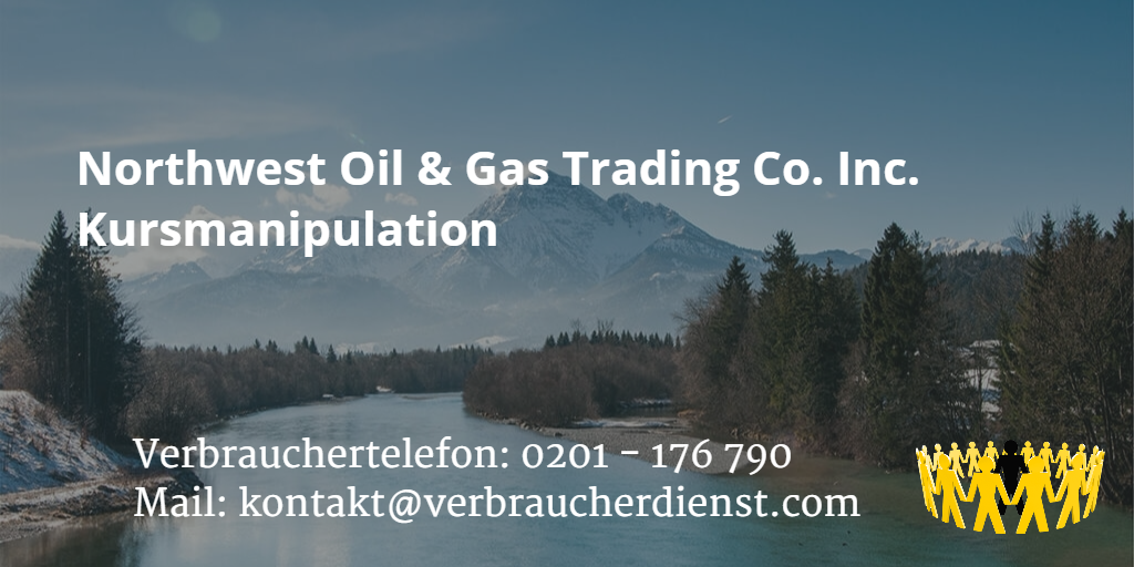 Beitragsbild: Northwest Oil & Gas Trading Co. Inc. Kursmanipulation