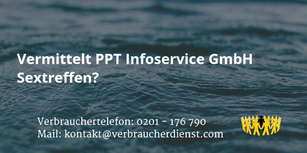 Beitrag: Vermittelt PPT Infoservice GmbH Sextreffen