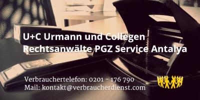 Beitragsbild: U+C Urmann und Collegen Rechtsanwälte PGZ Service Antalya