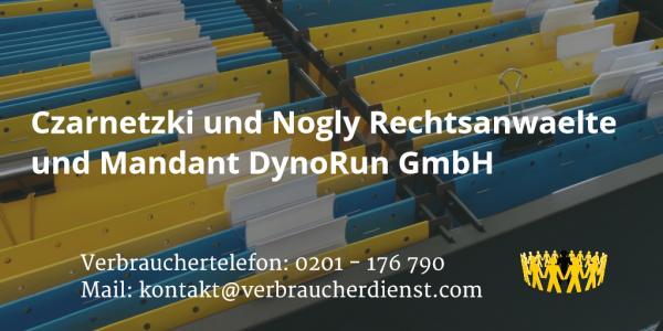 Beitragsbild: Czarnetzki und Nogly Rechtsanwaelte und Mandant DynoRun GmbH