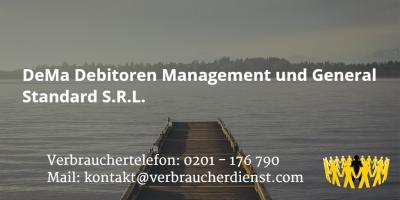 Beitragsbild: DeMa Debitoren Management und General Standard S.R.L.