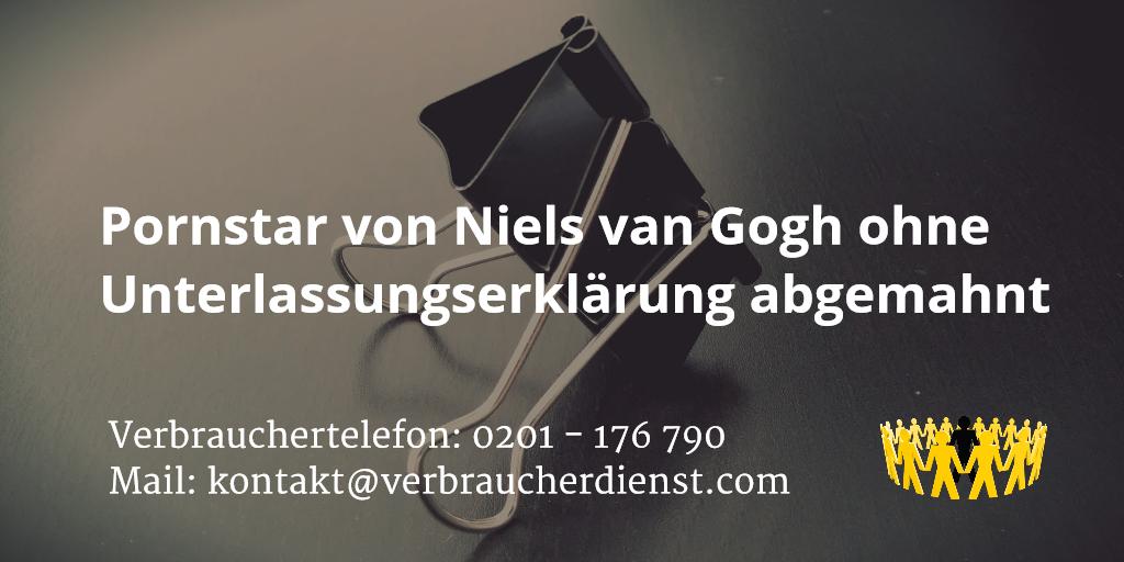 Beitragsbild: Pornstar von Niels van Gogh ohne Unterlassungserklärung abgemahnt