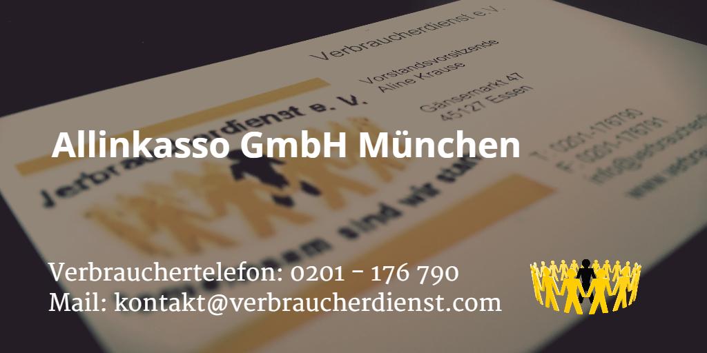 Beitragsbild: Allinkasso GmbH München