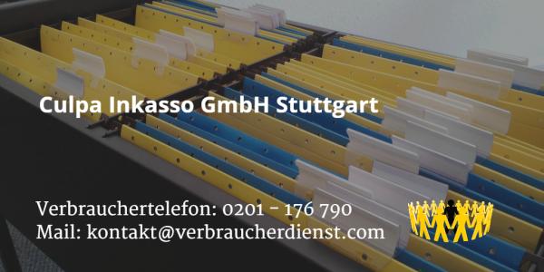 Beitragsbild: Culpa Inkasso GmbH Stuttgart