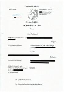 Bild Urteil MFA FilmDistribution