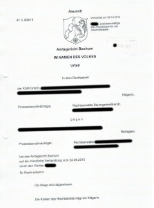 Bild Urteil AG Filesharing KSM Gmbh BaumgartenBrandt
