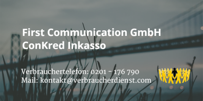Beitragsbild: First Communication GmbH | ConKred Inkasso