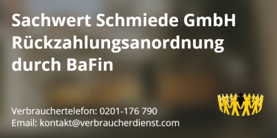 Bild Sachwert Schmiede GmbH BaFin