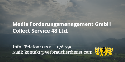 Beitragsbild: Media Forderungsmanagement GmbH Collect Service 48 Ltd.
