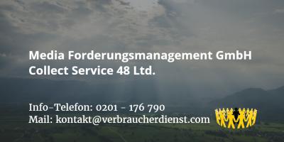 Beitragsbild: Media Forderungsmanagement GmbH Collect Service 48 Ltd.
