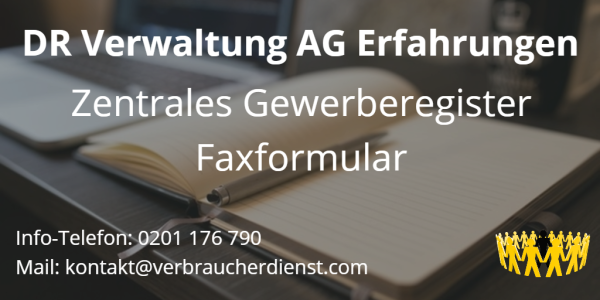Bild DR Verwaltung AG Erfahrung