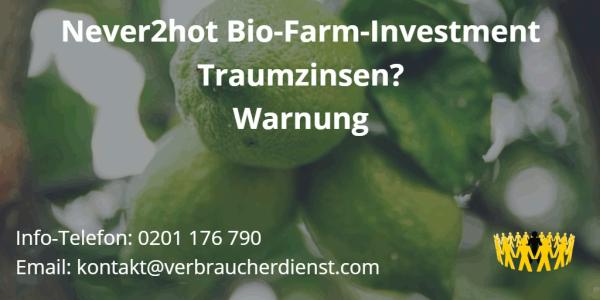Bild Never2Hot Bio Investment