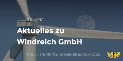 Beitragsbild: Windreich GmbH | Insolvenzverfahren | News