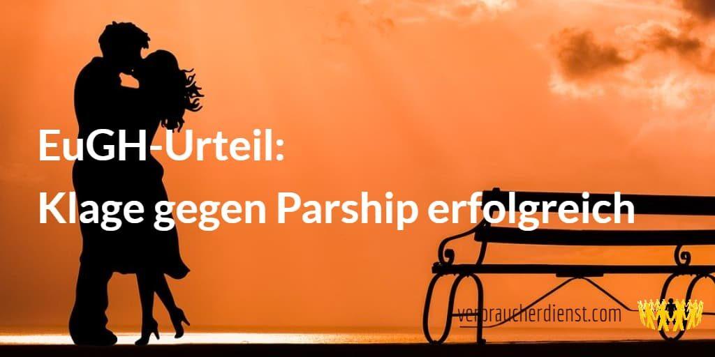 TItel: EuGH-Urteil: Klage gegen Parship erfolgreich