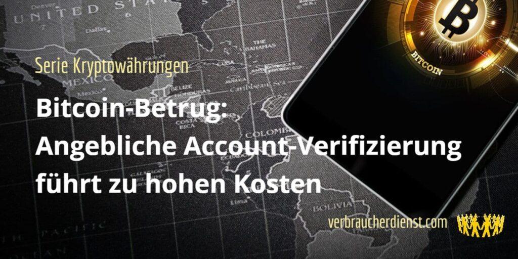Beitragsbild: Bitcoin-Betrug beim Domain-Verkauf