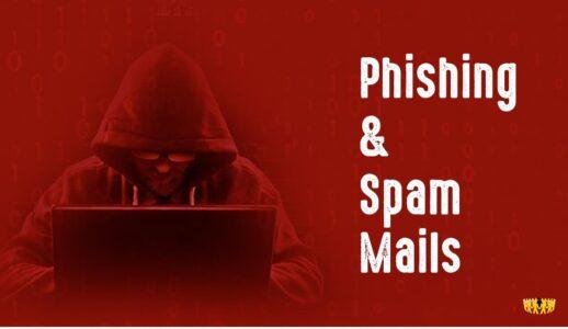 Bild: Verbraucherdienst berichtet über Phishing- und Spam-Emails