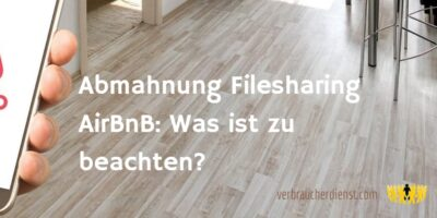 Titel: Abmahnung Filesharing AirBnB